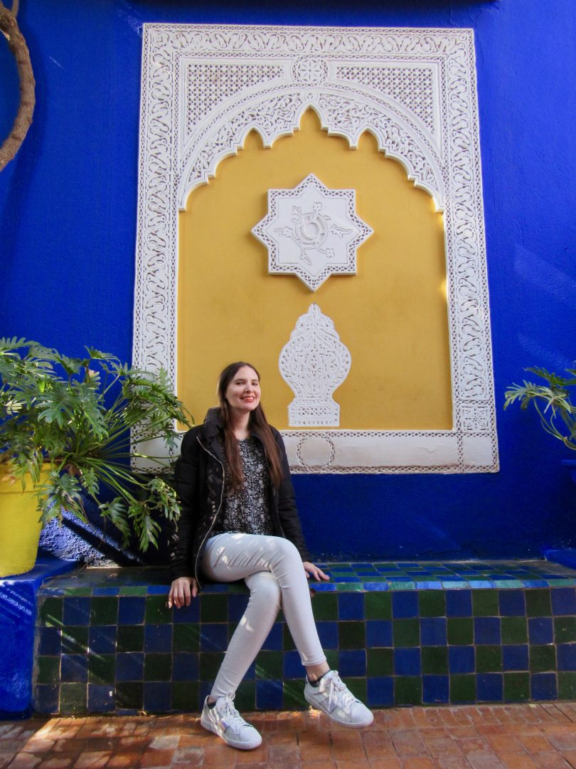Majorelle Garden And The Yves Saint Laurent Museum In Marrakech