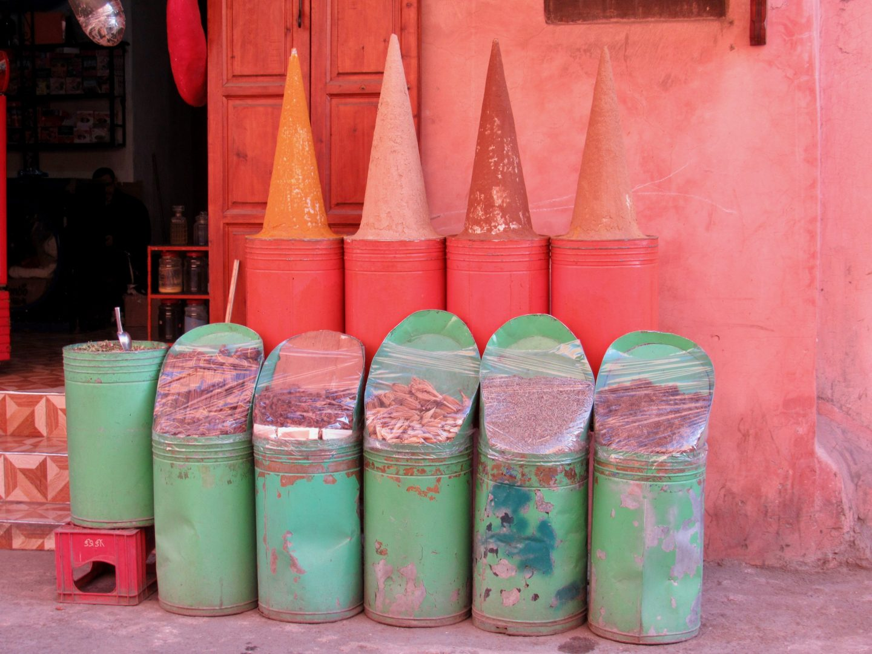 spices-dyes-especies-colorantes-marrakech-marraresh-marruecos ...