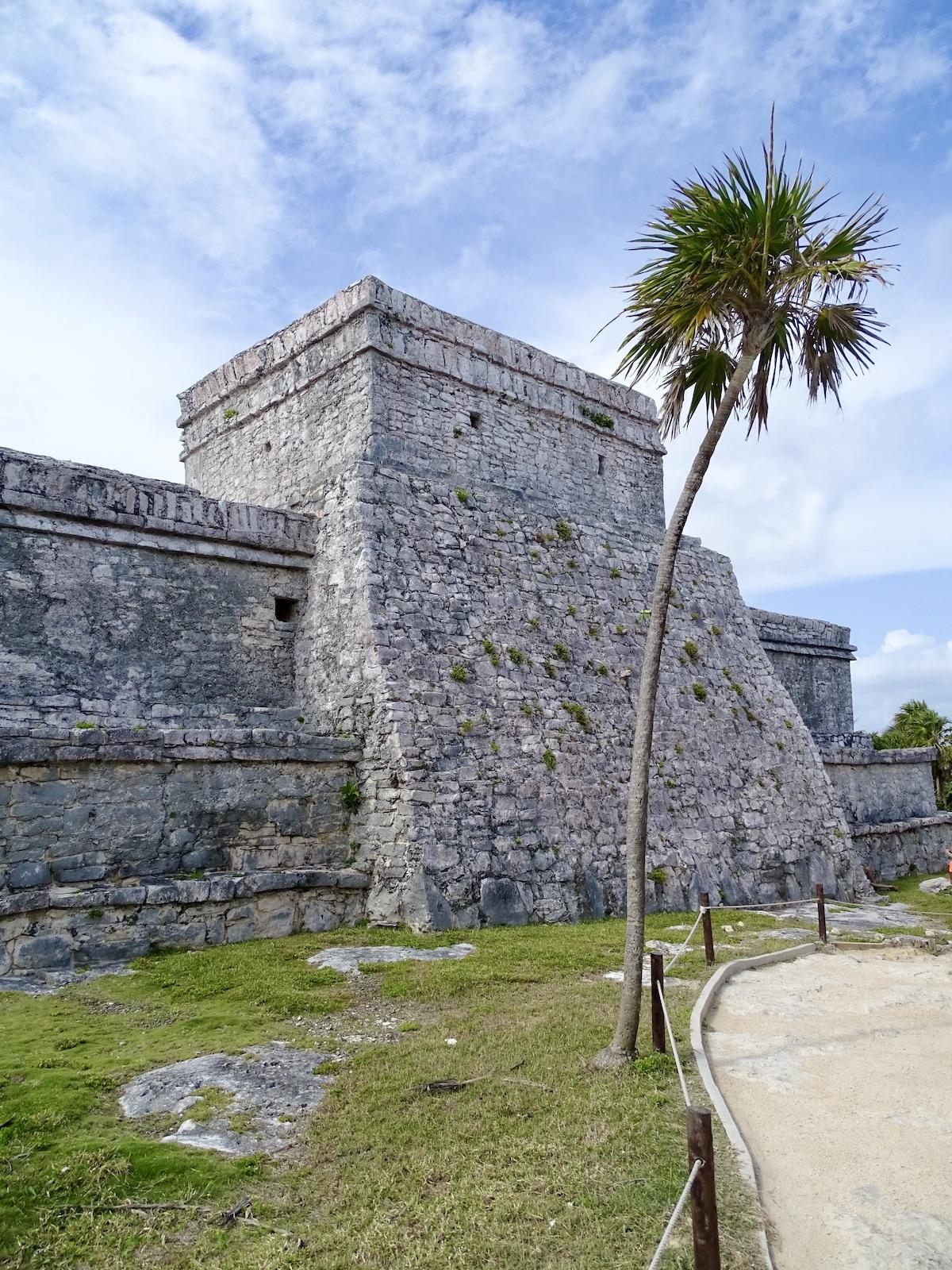 el castillo is part of tulum ruins